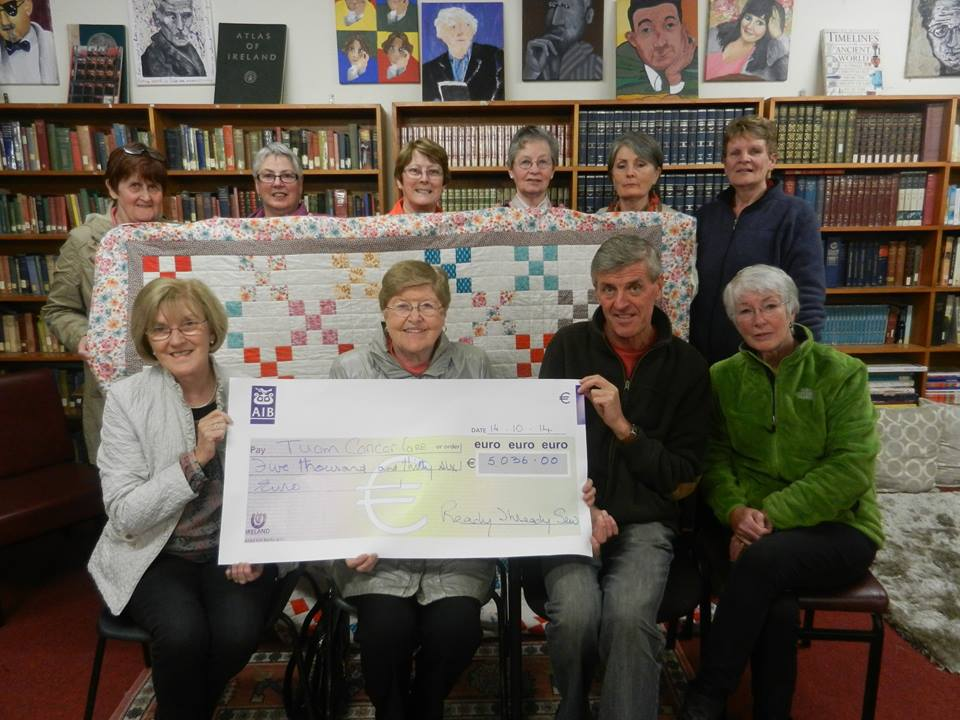 Quilting for Tuam Cancer Care