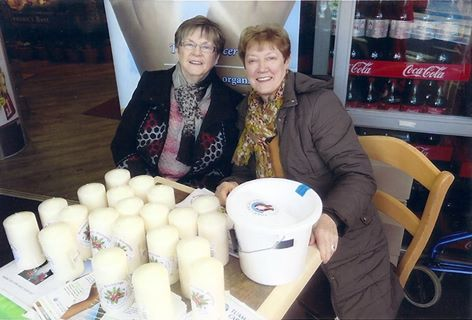 Sale of Tuam Cancer Care Christmas Candles